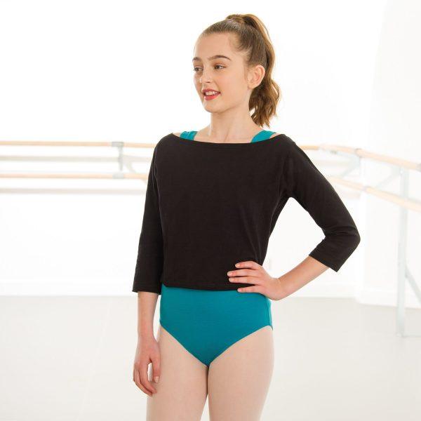 Brighton Ballet school 1st Position warm up top