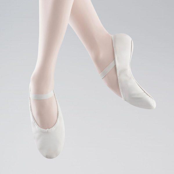 brighton ballet school bloch arise ballet shoe 209 white