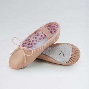 Brighton Ballet School Daisy Leather Ballet Shoe