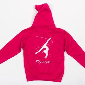 Brighton Ballet School hoodie pink