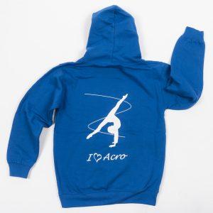Brighton Ballet School hoodie blue