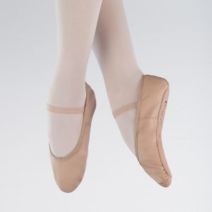 brighton ballet school 1st position leather ballet shoe