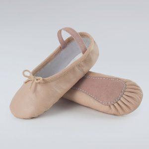 brighton ballet school 1st position basic leather ballet shoe lbte