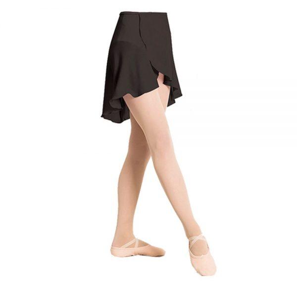 brighton ballet school plume wrap around chiffon skirt