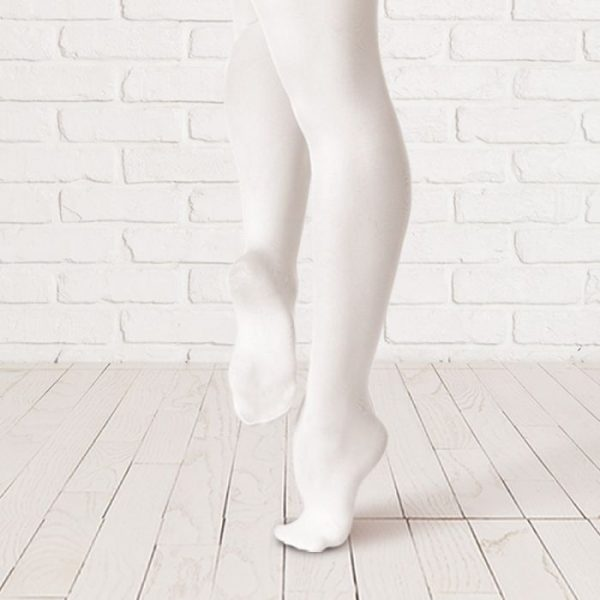 Brighton Ballet School Plume footed tights black