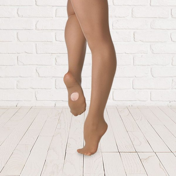 Brighton Ballet School Plume convertible tights Tan