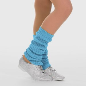 Brighton Ballet School Ankle Leg Warmer light blue