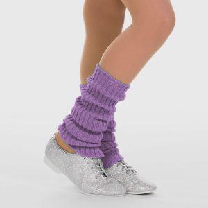 Brighton Ballet School Ankle Leg Warmer lavender