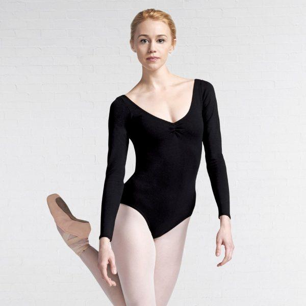 Brighton Ballet School Capezio long sleeve leotard