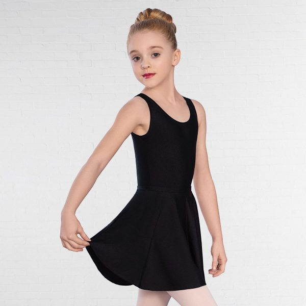 brighton ballet school basic black leotard