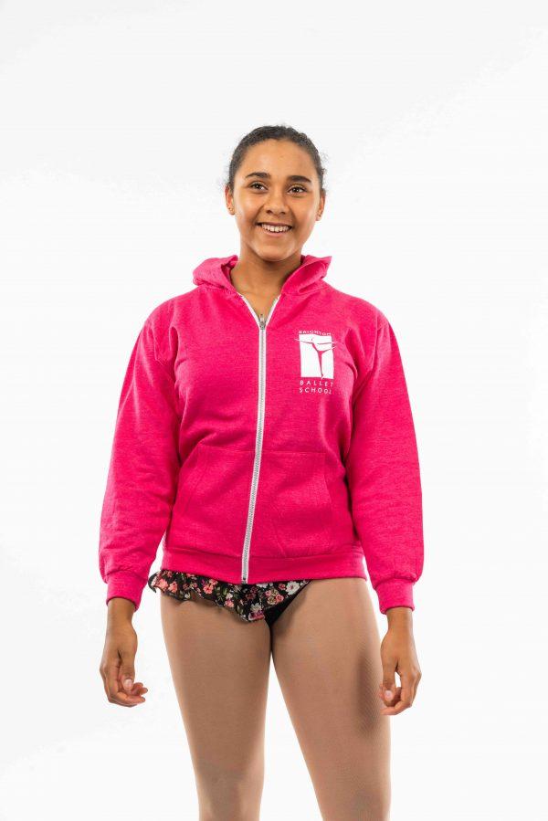 Brighton Ballet School Zoodie Pink