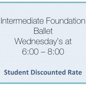 brighton ballet school intermediate foundation ballet student rate