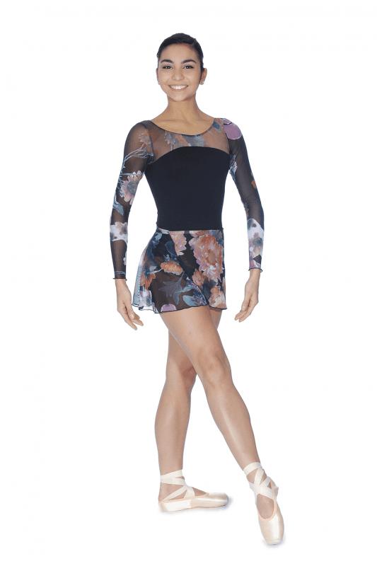 brighton ballet school candid wrap skirt black