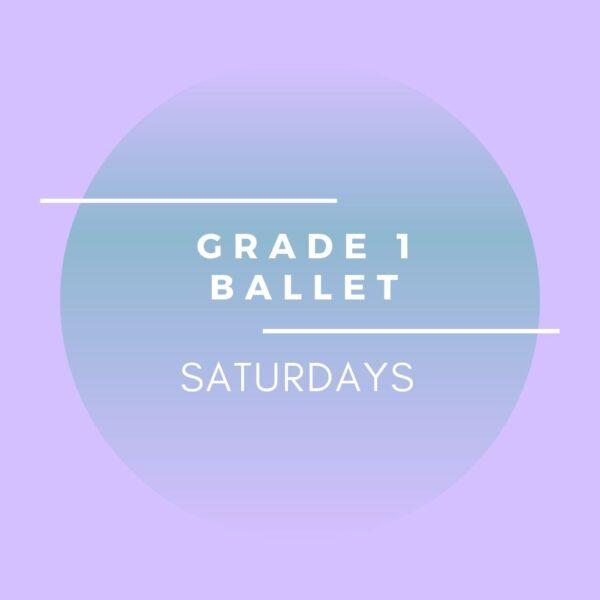 brighton ballet school grade 1 ballet