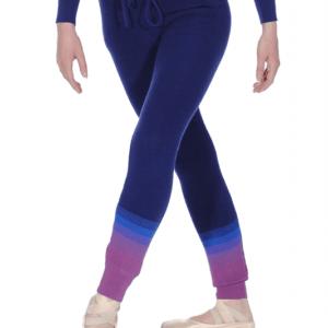 brighton ballet school grishko warm up knitted pants