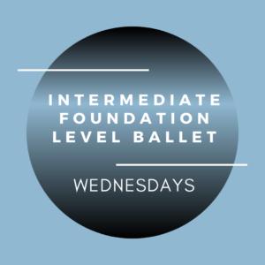 brighton ballet school intermediate foundation ballet