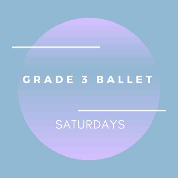 brighton ballet school grade 3 ballet